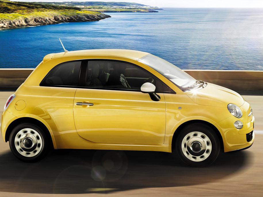 cars fiat 500 yellow cute drive young learn iconic models five light popular which adrianflux beetle volkswagen