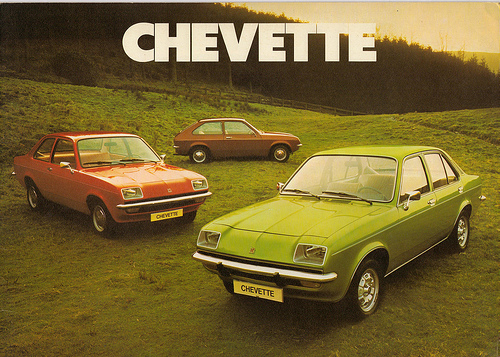 Vauxhall Chevette range