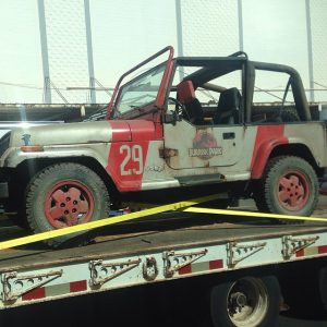 Jeep 29 spotted ahead of filming for Jurassic World