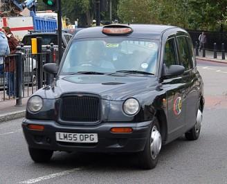 """""""Taxi in London 2"""" by Ralf Roletschek (talk) - Fahrradtechnik auf fahrradmonteur.de - Own work. Licensed under FAL via Wikimedia Commons - https://commons.wikimedia.org/wiki/File:Taxi_in_London_2.jpg#/media/File:Taxi_in_London_2.jpg"""