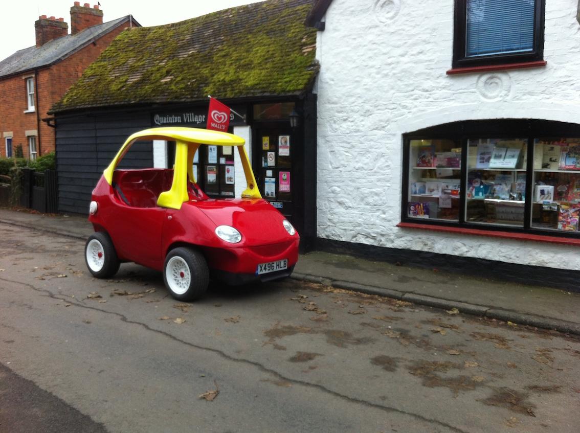 Little Tike car