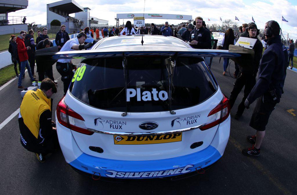 Jason Plato Subaru Levorg