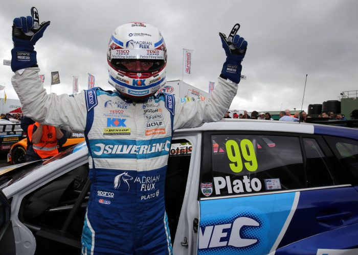 Jason Plato BTCC Knockill win