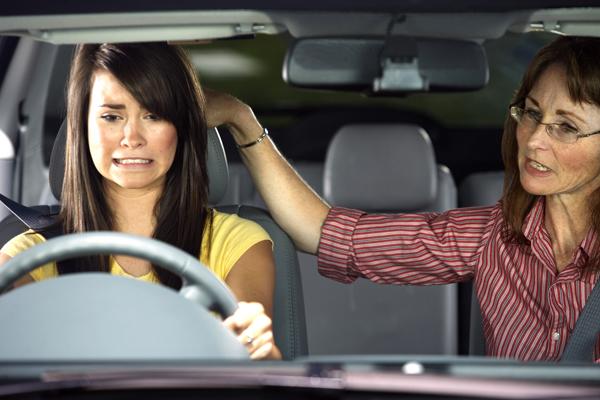 Teach teen drive