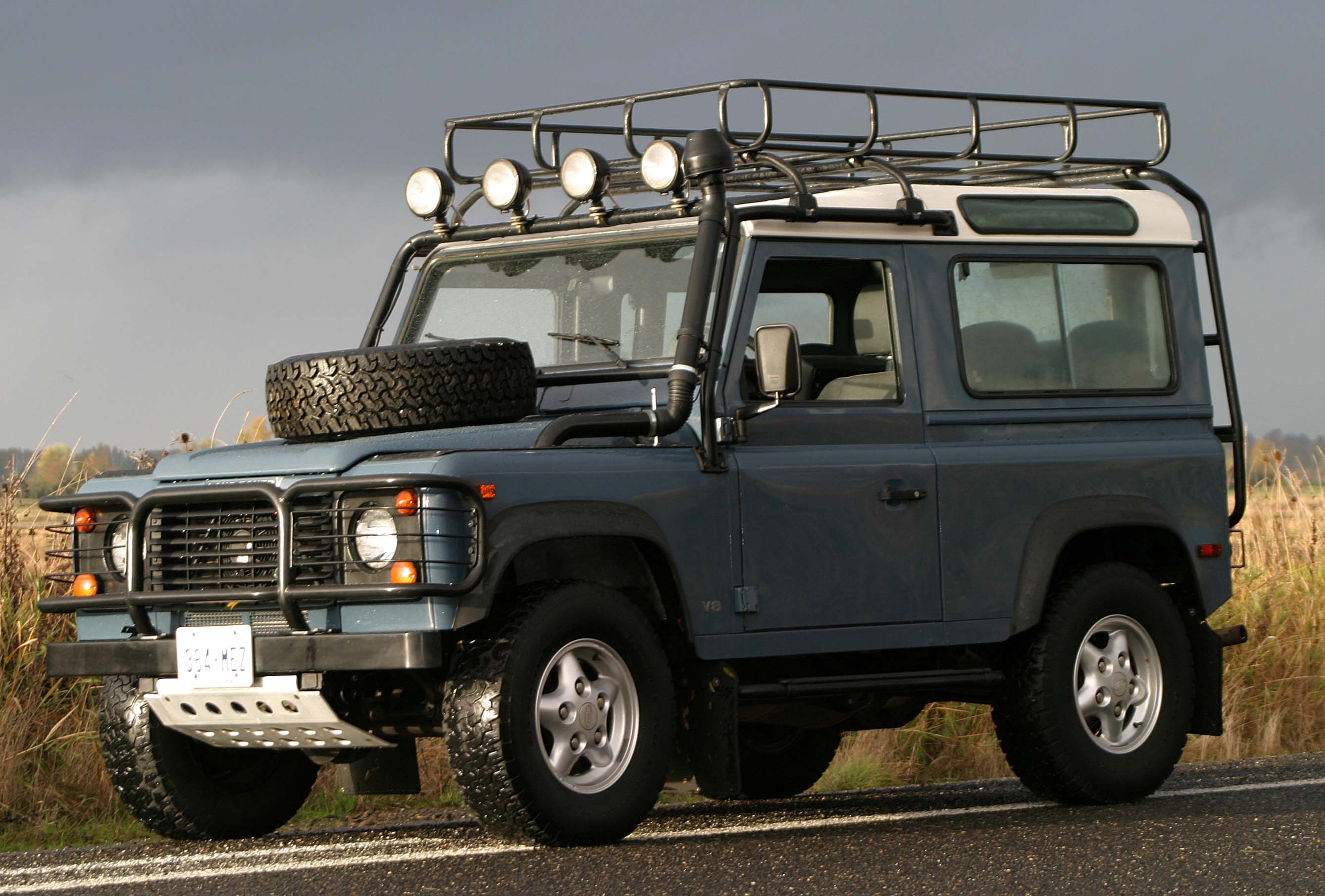 Modified Land Rover Defender 90