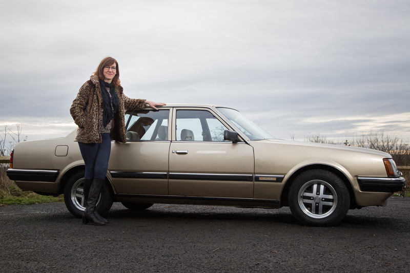 1984 Nissan Datsun Laurel with owner Melissa Jardine
