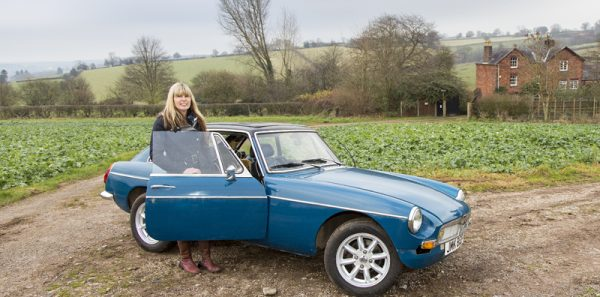 Me and my MGB GT