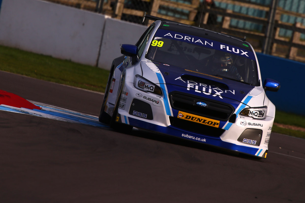 Adrian Flux Subaru Racing Jason Plato