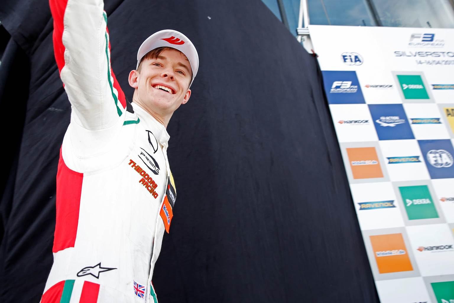 Callum Ilott FIA F3 Silverstone