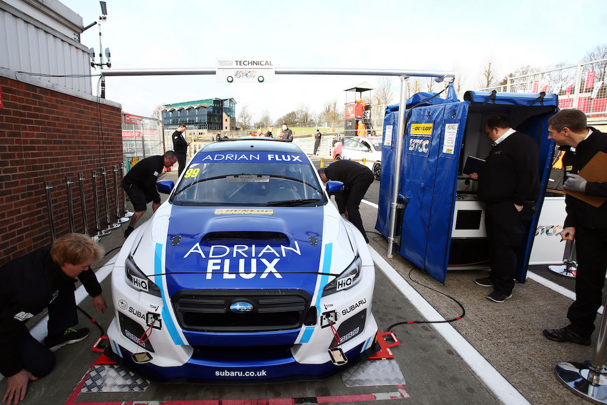 Subaru Brands Hatch BTCC