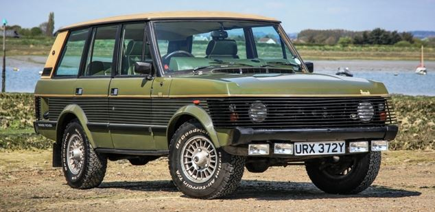rare right hand drive harrods range rover for sale. Black Bedroom Furniture Sets. Home Design Ideas