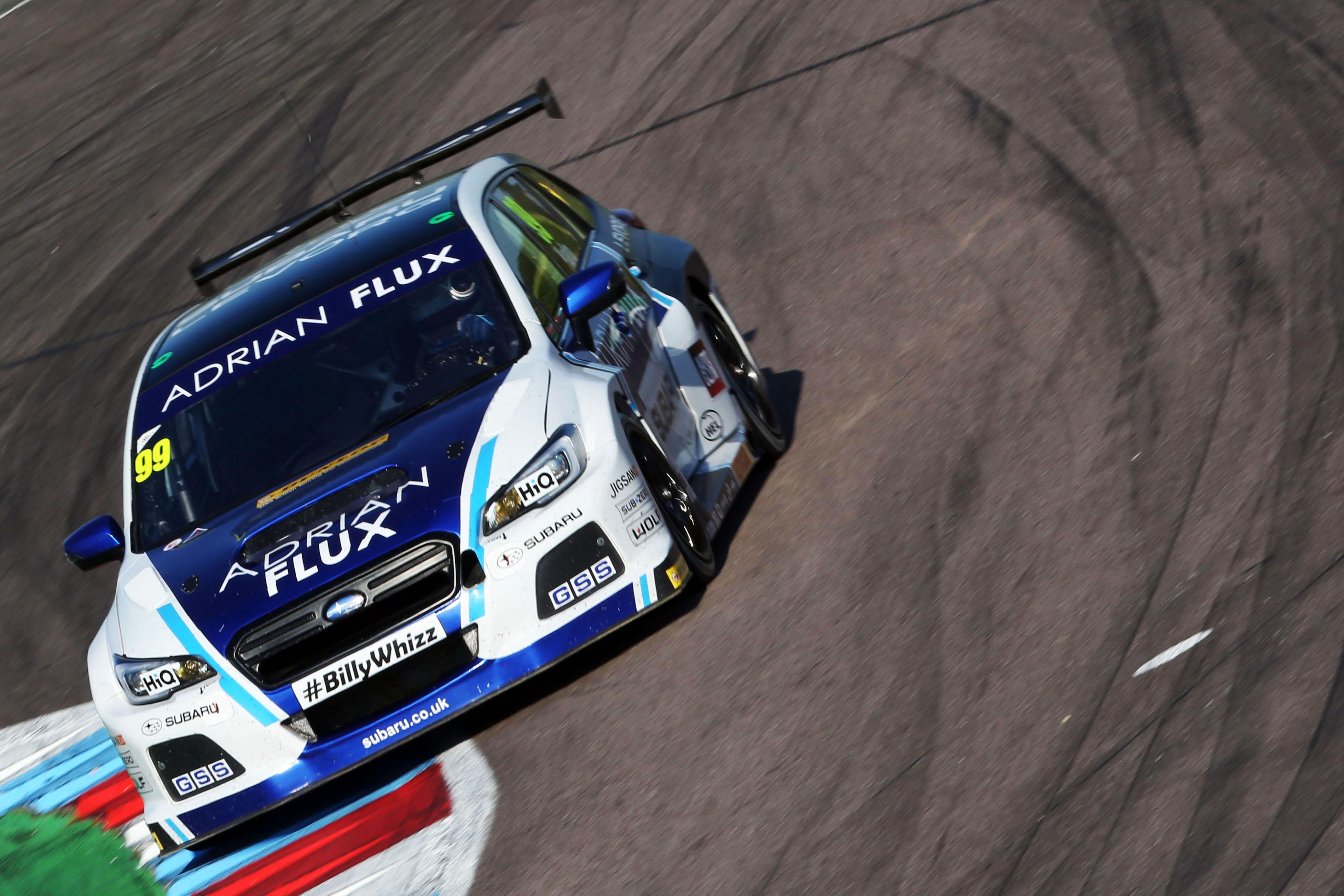 Subaru Levorg GT Team BMR Jason Plato BTCC