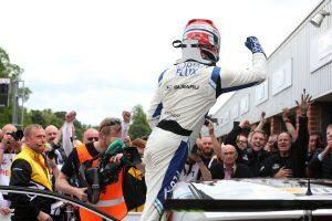 Ash Sutton BTCC Adrian Flux Subaru Racing