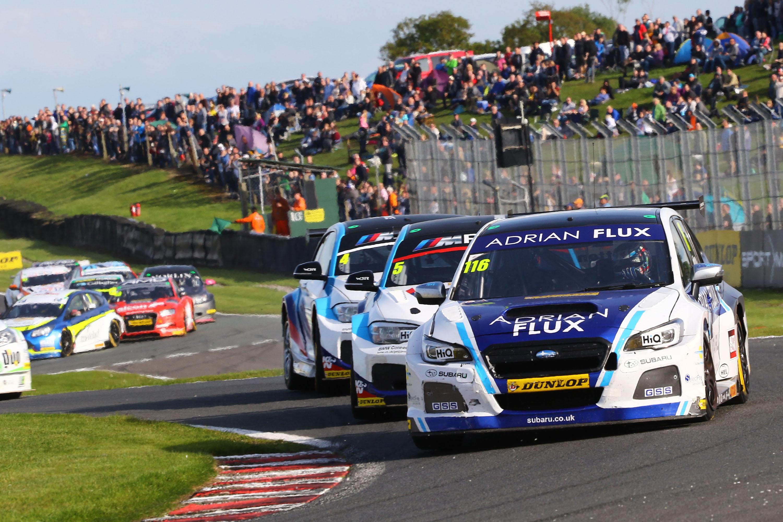 Ash Sutton win BTCC Subaru