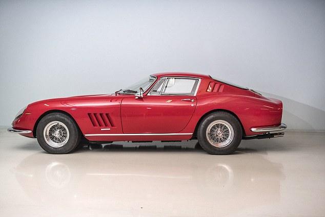 Classic Ferrari 275 up for auction
