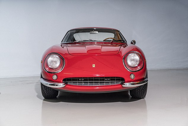 Classic Ferrari Valued At More Than 2 Million Up For Auction