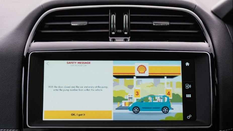 Jaguar's new cashless fuel payment app