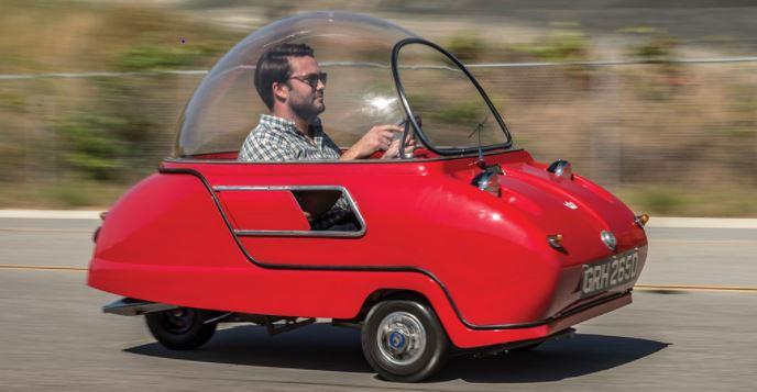 Classic bubble car.
