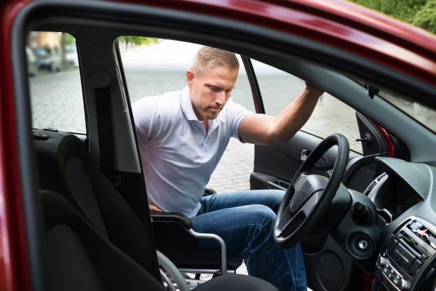 Gadgets to help drivers with mobility issues.