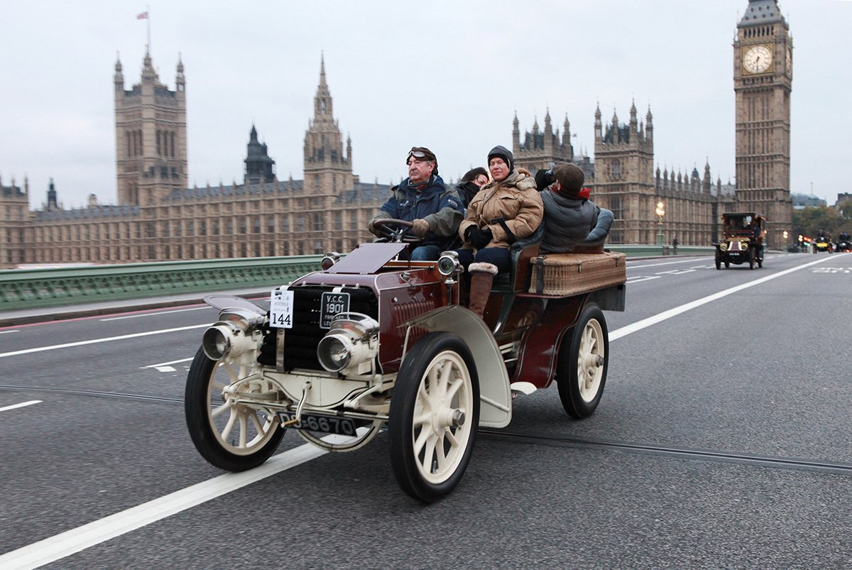 Ooh la la! The 2017 London to Brighton Veteran Car Run is looming