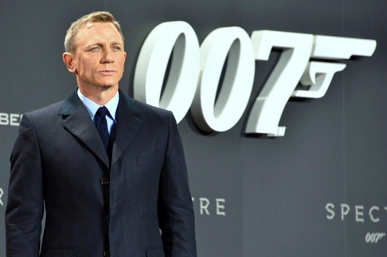 Secret agent 007 James Bond and his greatest drives