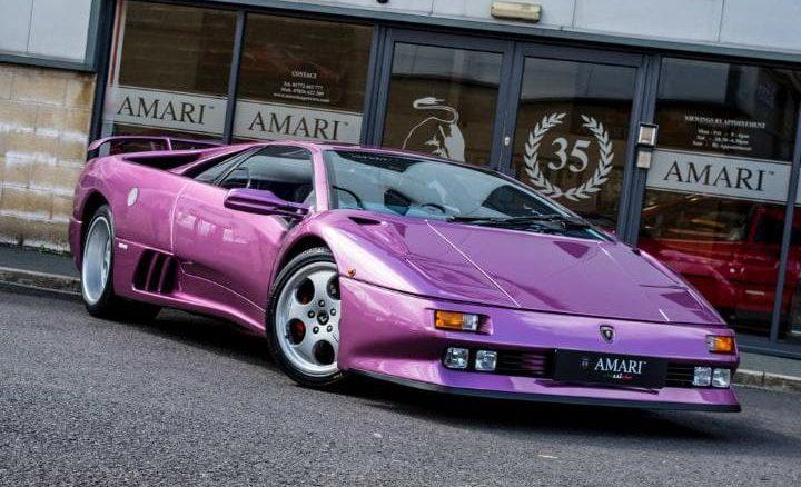 Lamborghini Diablo From Jamiroquai S Cosmic Girl Going For A Song