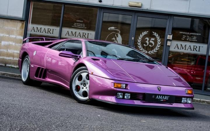 Lamborghini Diablo From Jamiroquai S Cosmic Girl Going For A Song