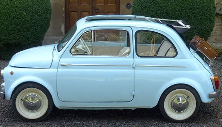 Buy A Slice Of Dolce Vita With This Gem Of A Fiat 500