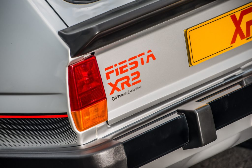 Fiesta XR2 rear