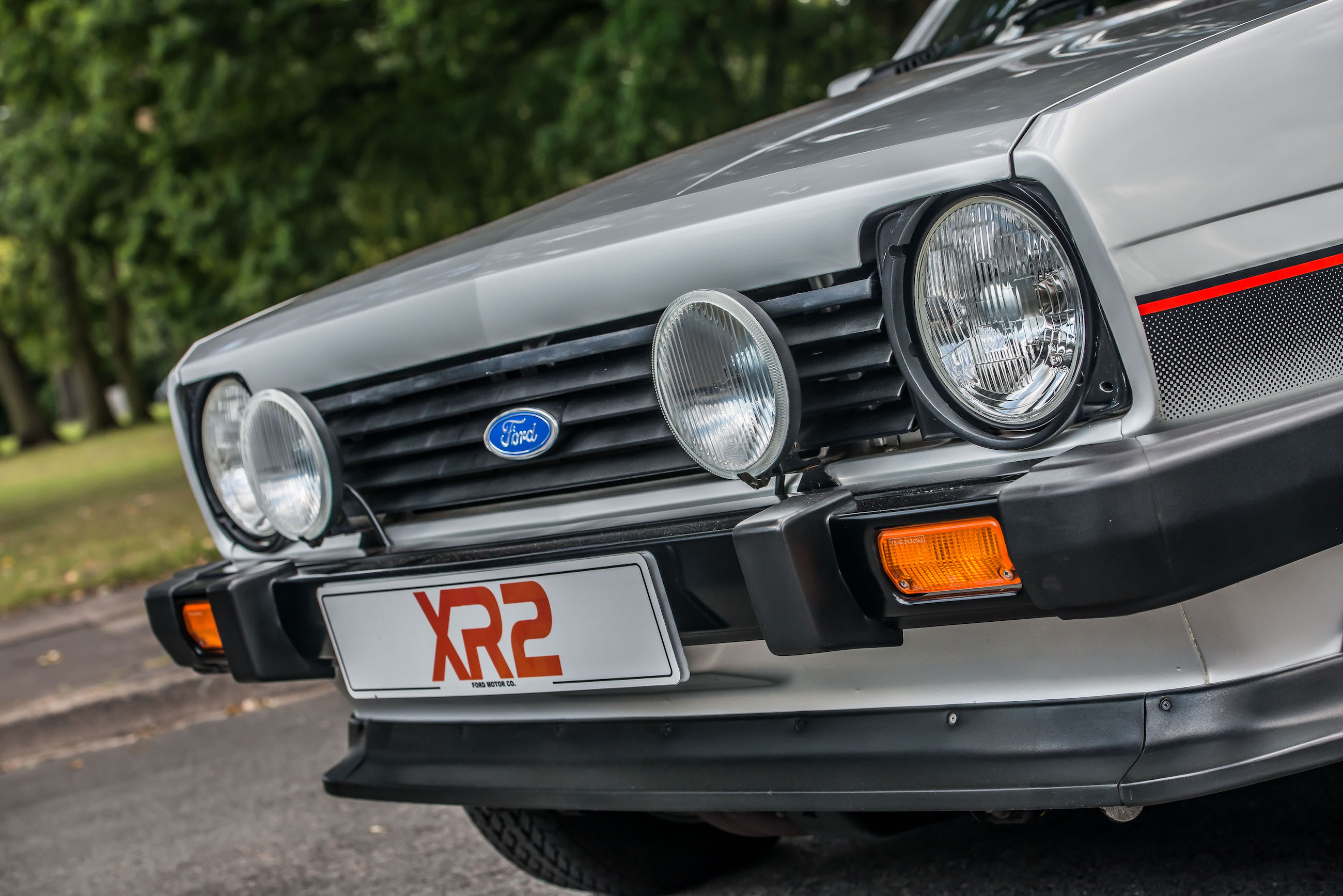 Ford Fiesta XR2 mark 1 front