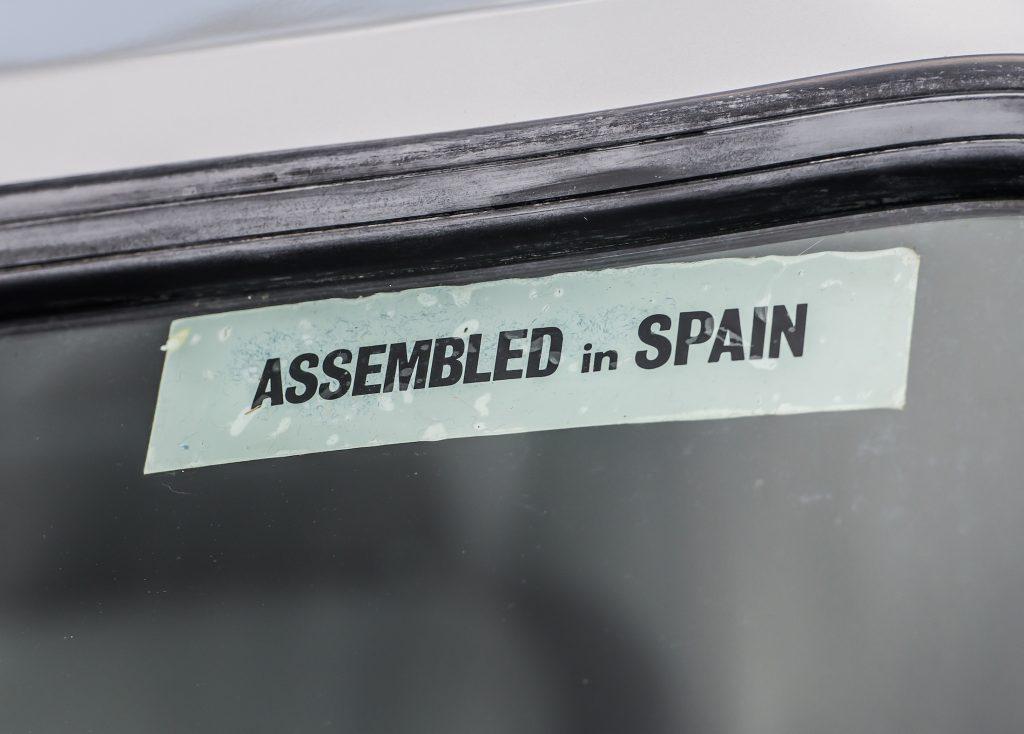 Ford Fiesta XR2 assembled in Spain
