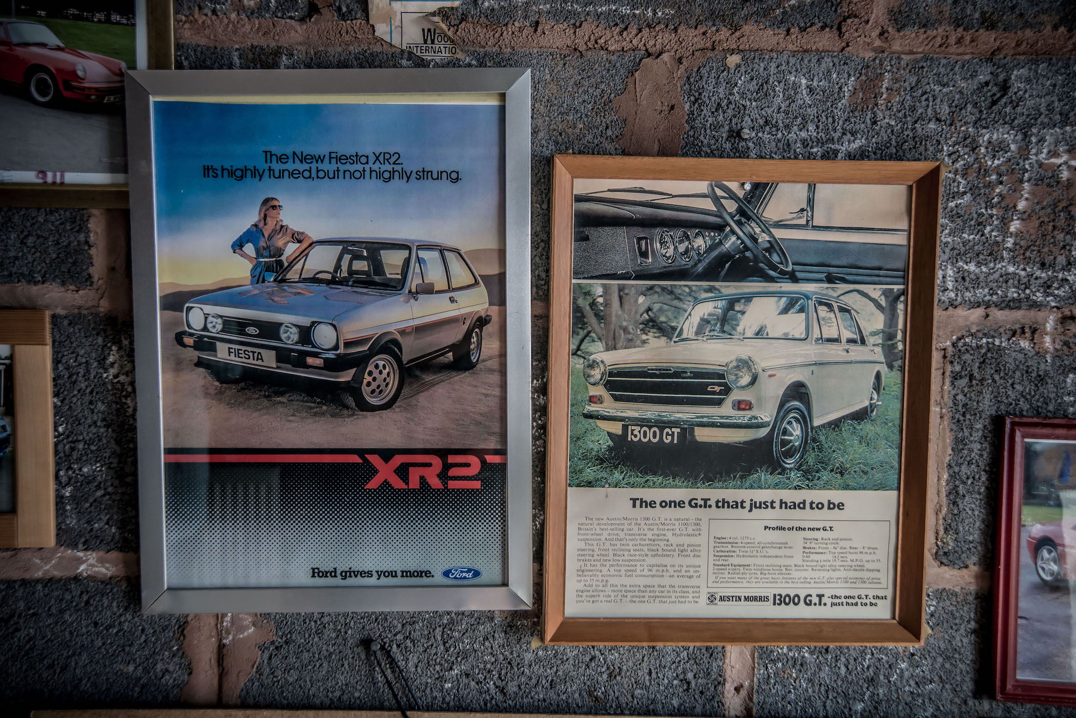 Fiesta XR2 advert 1300GT advert