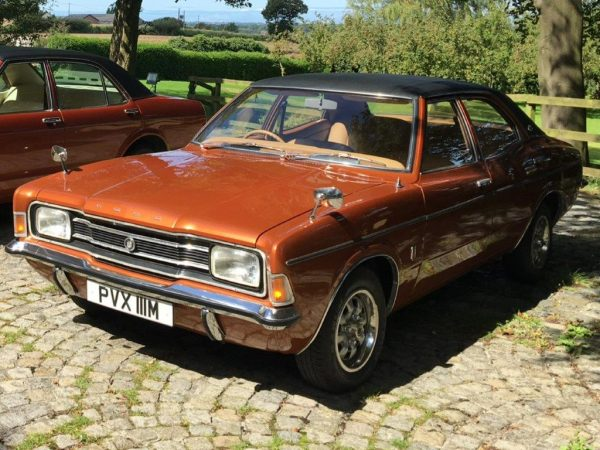 Ford Cortina Mk III Jon Culshaw