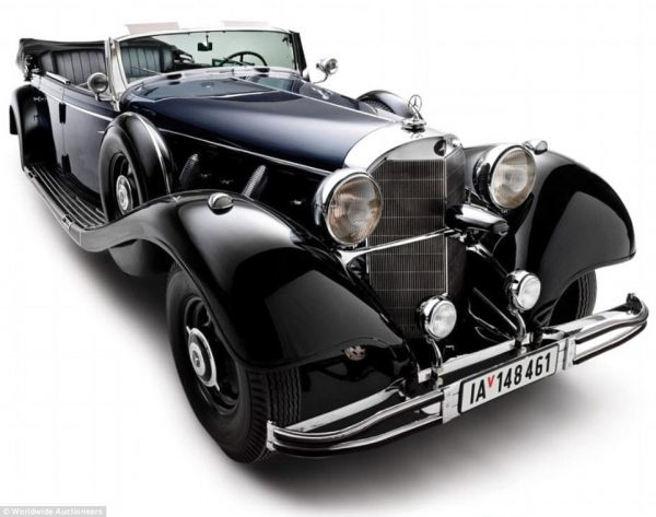 Mercedes-Benz supercar used by Hitler set for sale