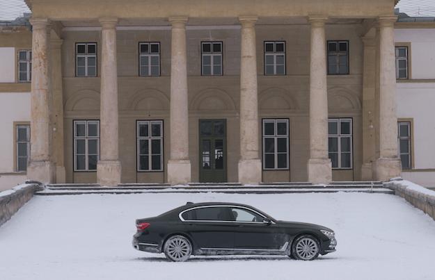 BMW 7 Series Stars Alongside Oscar Winner Jennifer Lawrence
