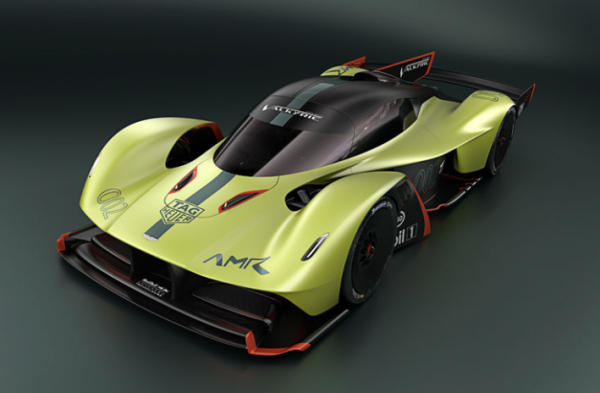 Aston Martin Valkyrie AMR Pro wows the crowds at Geneva Motor Show