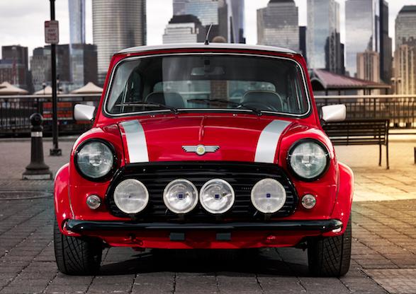 1d2f6688f4a4dc BMW showcases classic Mini Cooper with electric twist