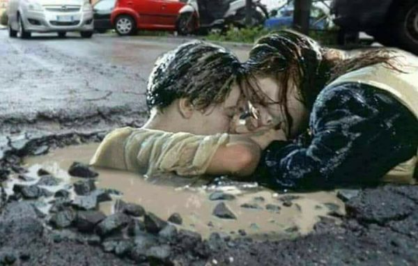 potholes blighting UK highways
