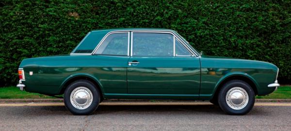 classic Ford Cortina