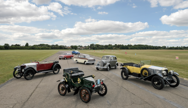 auxhall celebrates rich heritage with 115 years of classic cars