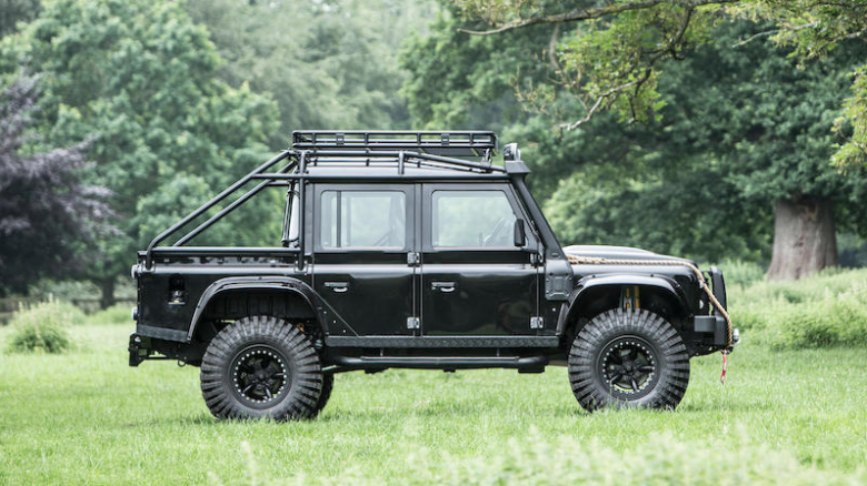 007 James Bond Land Rover Defender SVX up for sale