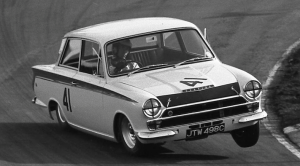 F1 champion Jim Clark's Lotus Cortina for sale at Festival of Speed auction