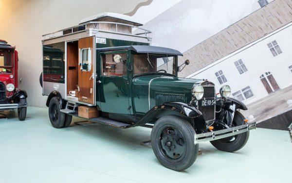 motor museum 1931 Ford Model AA Camper £13,000-£22,000