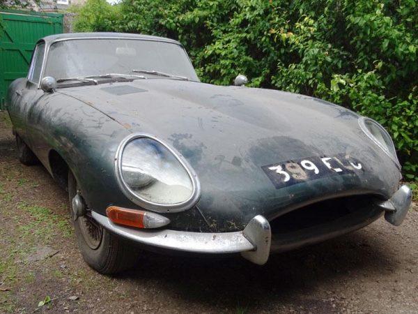 barn find Jaguar E-Type