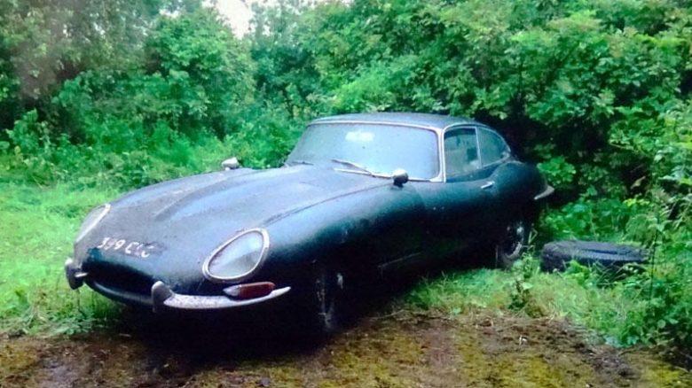 Barn find Jaguar E-Type - 'delightful sleeping beauty ...