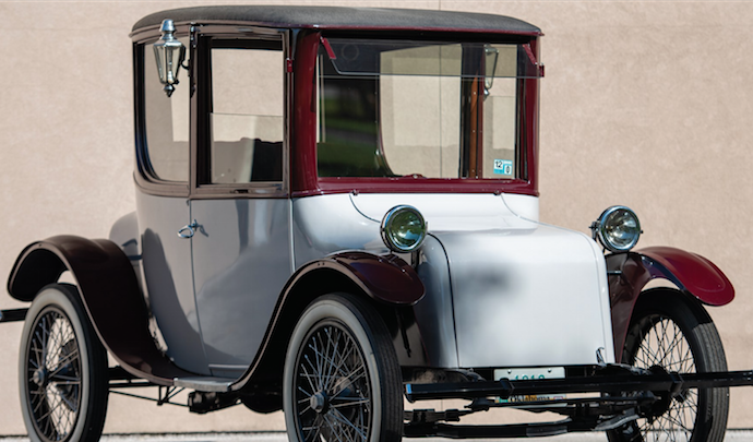 classic old electric car