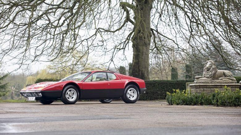 Ferrari 365 GT4 Berlinetta Boxer owned by Sir Elton John for