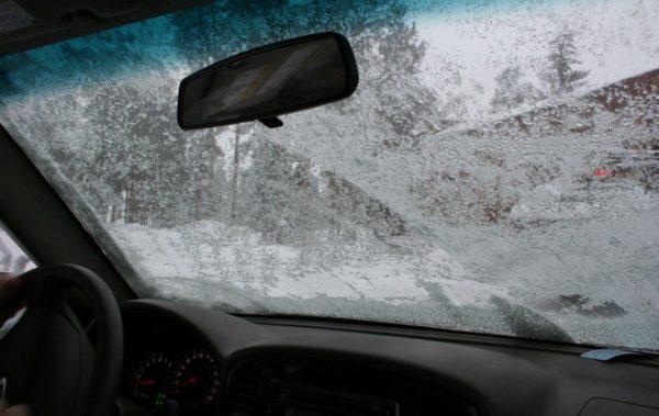 iced car