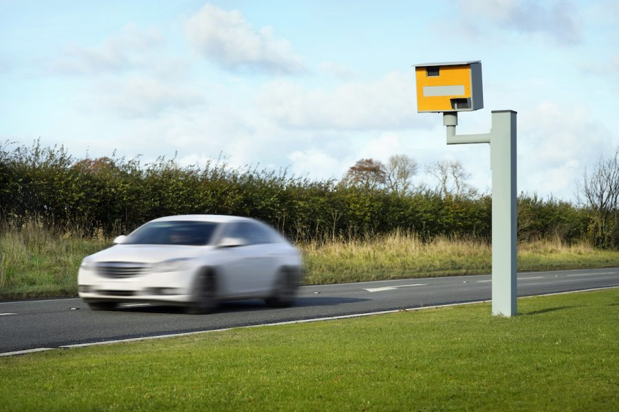 Speeding criminal conviction driving offence