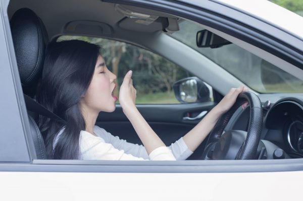 Sleep apnea can cause fatigue when driving